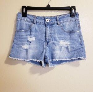 🔥SALE Guess Los Angeles Light Blue Jean Shorts